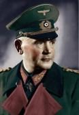 The German War Minister General Werner von Blomberg.