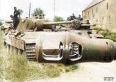 Panzer Lehr Division at Juaye Mondaye in Normandy (8km. south of Bayeux).