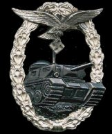 Luftwaffe Panzer Battle Badge