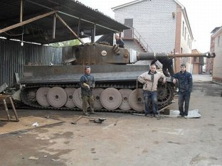 Tiger 1 replica built in Russia for a collector for $500,000 USD.