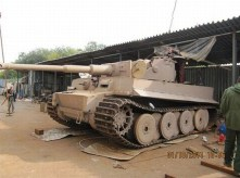Tiger 1 replica built in Russia for a collector for $500,000 USD back in 2011.