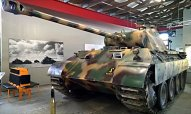 Panther Ausf A Medium Tank Sd.Kfz.171 ,German Tank Museum – Deutsches Panzermuseum in Munster, Germany.