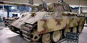 Panther at the Musée des Blindés - Tank Museum - France.