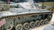 Panzer III Ausf H tank panzerkampfwagen 3 Sd.Kfz.141, French Tank Museum in Saumur in the Loire Valley.