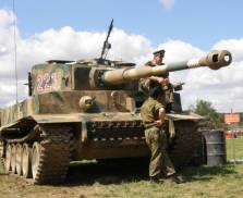 Tiger 1 Replica on another chassis.