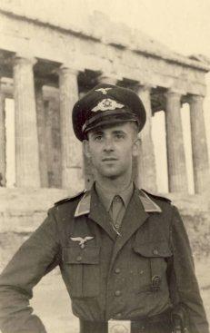 Luftwaffe in Greece.