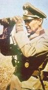 Walter Model with binoculars.