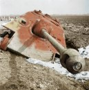 Knocked out Jagdpanther.
