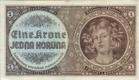 1 Crown or Koruna of the Protectorate.