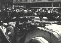 German occupation of Prague, 15 March 1939.