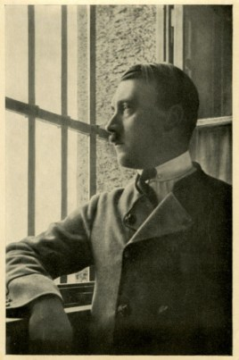Germany Awakes. Group #32. Picture #31: Hitler in the fortress cell in Landsberg, 1924.