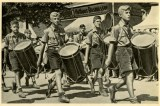 Germany Awakes. Group #32. Picture #66: Drums which call German freedom.