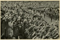 Germany Awakes. Group #32. Picture #68: National Socialist youth day on October 2, 1932, in Potsdam.