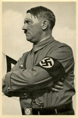 Germany Awakes. Group #32. Picture #94: The Führer speaks.