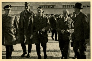 Germany Awakes. Group #32. Picture #108: The Führer commences the Germany flight.