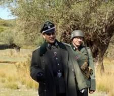 Spyros Kyriakos on the left of the LSSAH-GREECE Historical Air soft Group