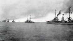 Dreadnoughts of the High Seas Fleet.