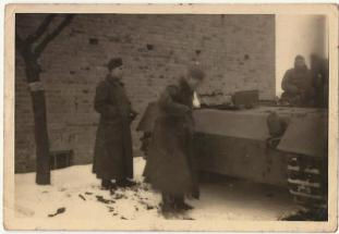 Special Collection of Photos from the Eastern Front of Rolf-Michael Born's Father on his journey to Stalingrad. Credit- Rolf-Michael Born