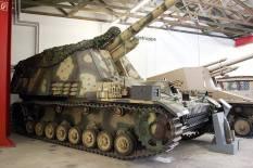 Hummel in the Deutsches Panzermuseum (German Tank Museum), 2005.