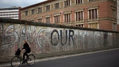 The Berlin Wall route is flat and paved, so doesn't require high fitness levels or expensive bikes to negotiate.