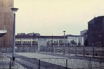 Berlin wall from the East Berlin side.