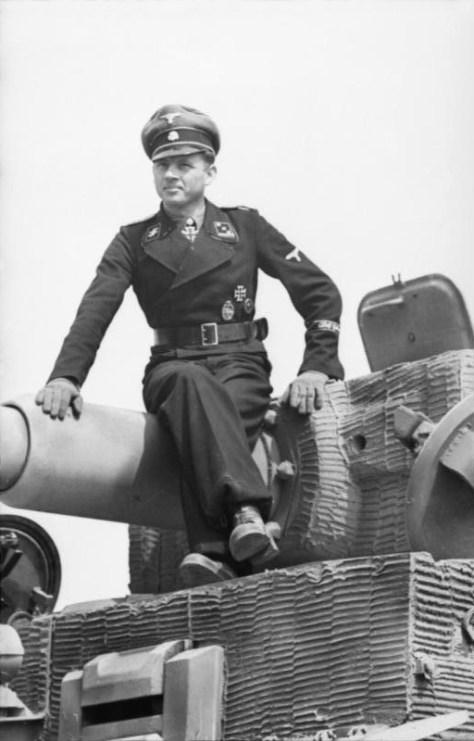 Nordfrankreich, Michael Wittmann auf Panzer VI (Tiger I)