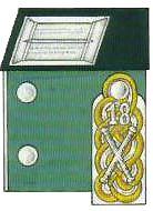Kragenpatte & Epaulette of von Rundstedt