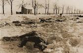 Baugnez - Malmedy December 1944, search for the victims of the massacre.