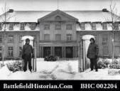 30th Headquarters in Malmedy, January 1945