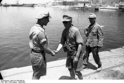 Afrika Korps at Tobruk.