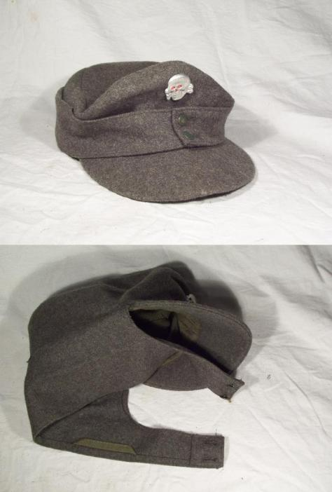 M43 field cap with SS insignia.