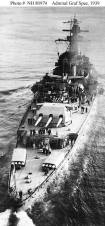The Admiral Graf Spee in the English Channel in 1939.