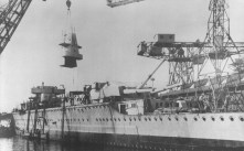 Building of the Admiral Graf Spee.