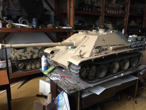 1/6 Scale Jagdpanther model