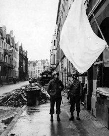 White Flag Alley, Cologne 1945.