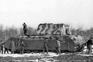 Trials for the Panzer VIII - Maus