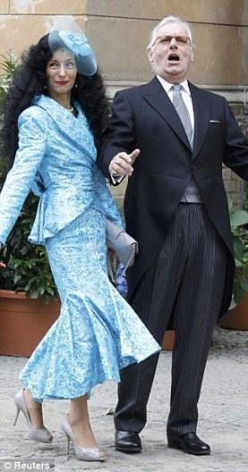 Prince Franz Friedrich von Preussen and wife Princess Susann von Preussen.