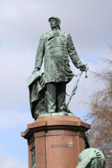 Bismarck statue in Berlin.