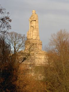 The Bismarck Monument, Hamburg.