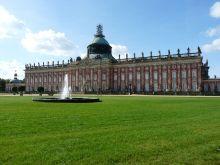 Neues Palais Gartenseite Sanssouci Potsdam.