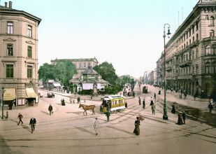 Am Kröpcke, 1895.