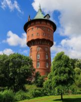 Water tower in Cuxhaven.