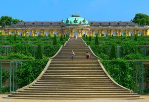 Schloss Sanssouci Potsdam Oktober 2014.