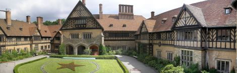 Cecilienhof palace.