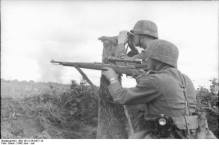 Snipers in action.