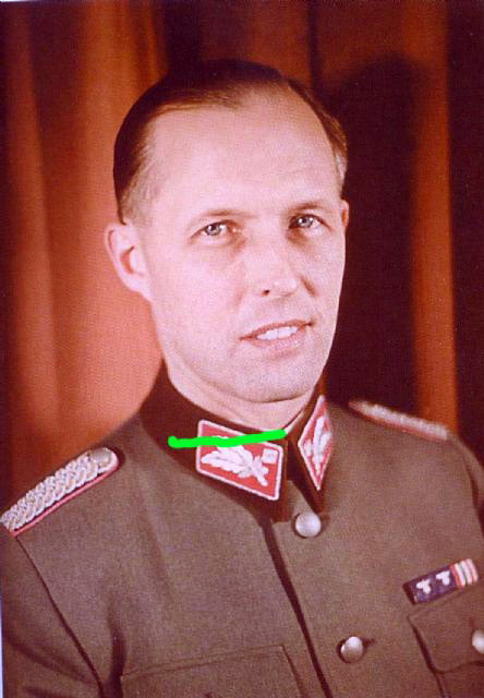 Albrecht wearing a NSKK uniform.