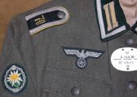 Gebirgs Nachrichten Abt. 70 Unteroffizier. Cap is an German made Erel. Headset by Simon Klause. Time machined to medium.