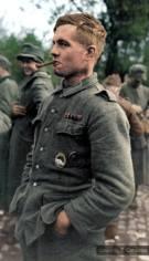 Captured Volksgrenadiers.