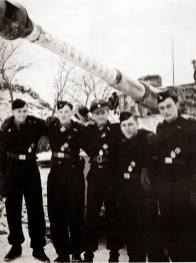 Michael Wittmann and his Tiger crew.