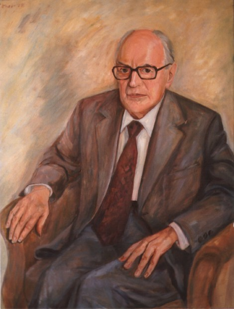 Portrait by Günter Rittner, 1978.